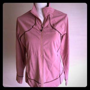 Pink Zippered Sweatshirt
